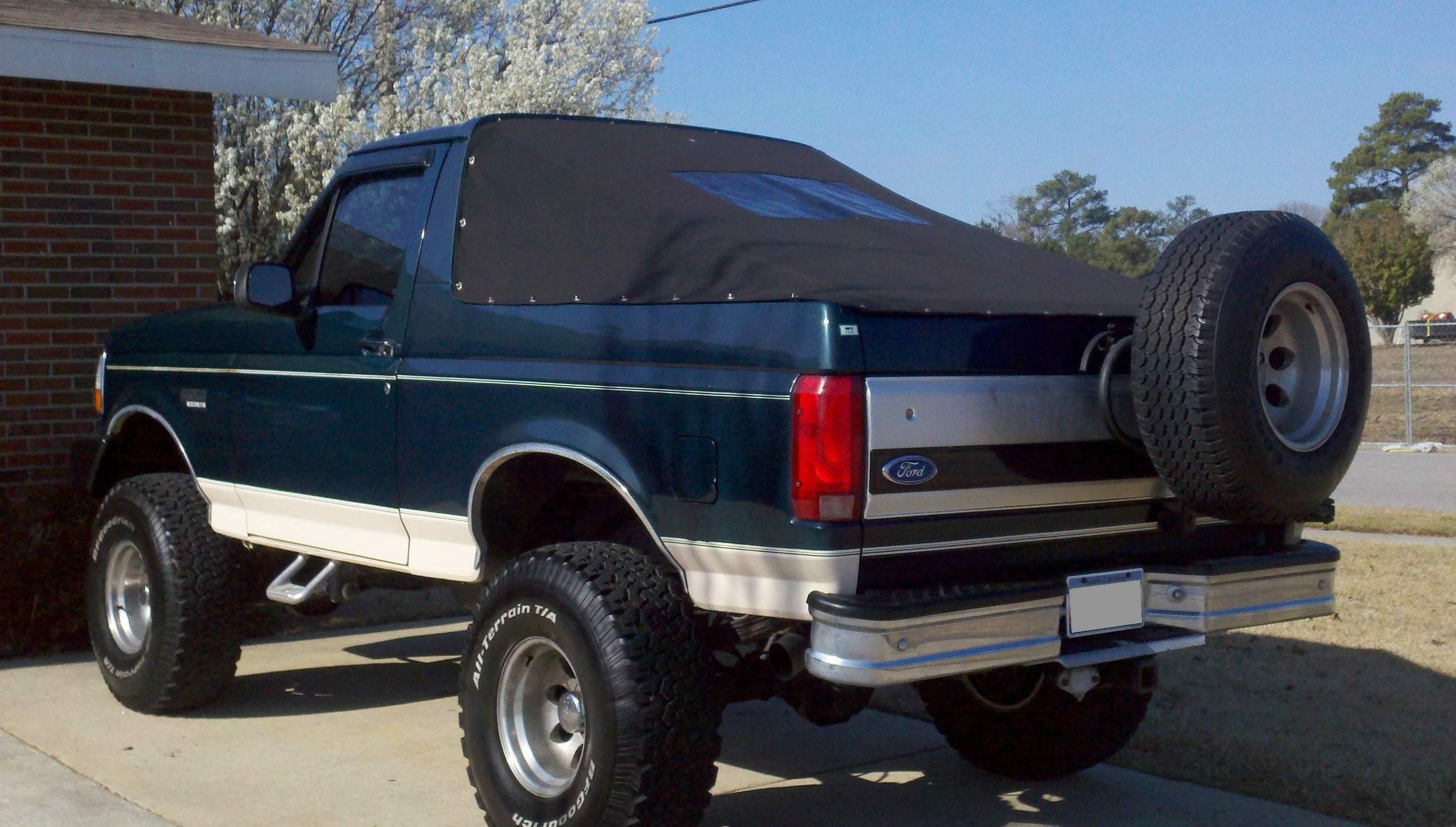 Ford bronco bikini top
