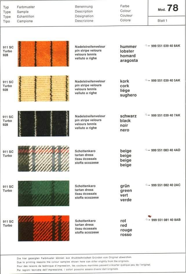 Where To Find Seat Fabric Rennlist Porsche Discussion